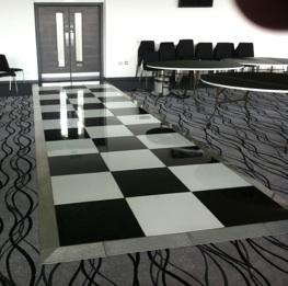 checkered-floor
