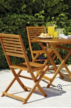 4 Seater Patio Furniture Set, supplied with Parasol and Base