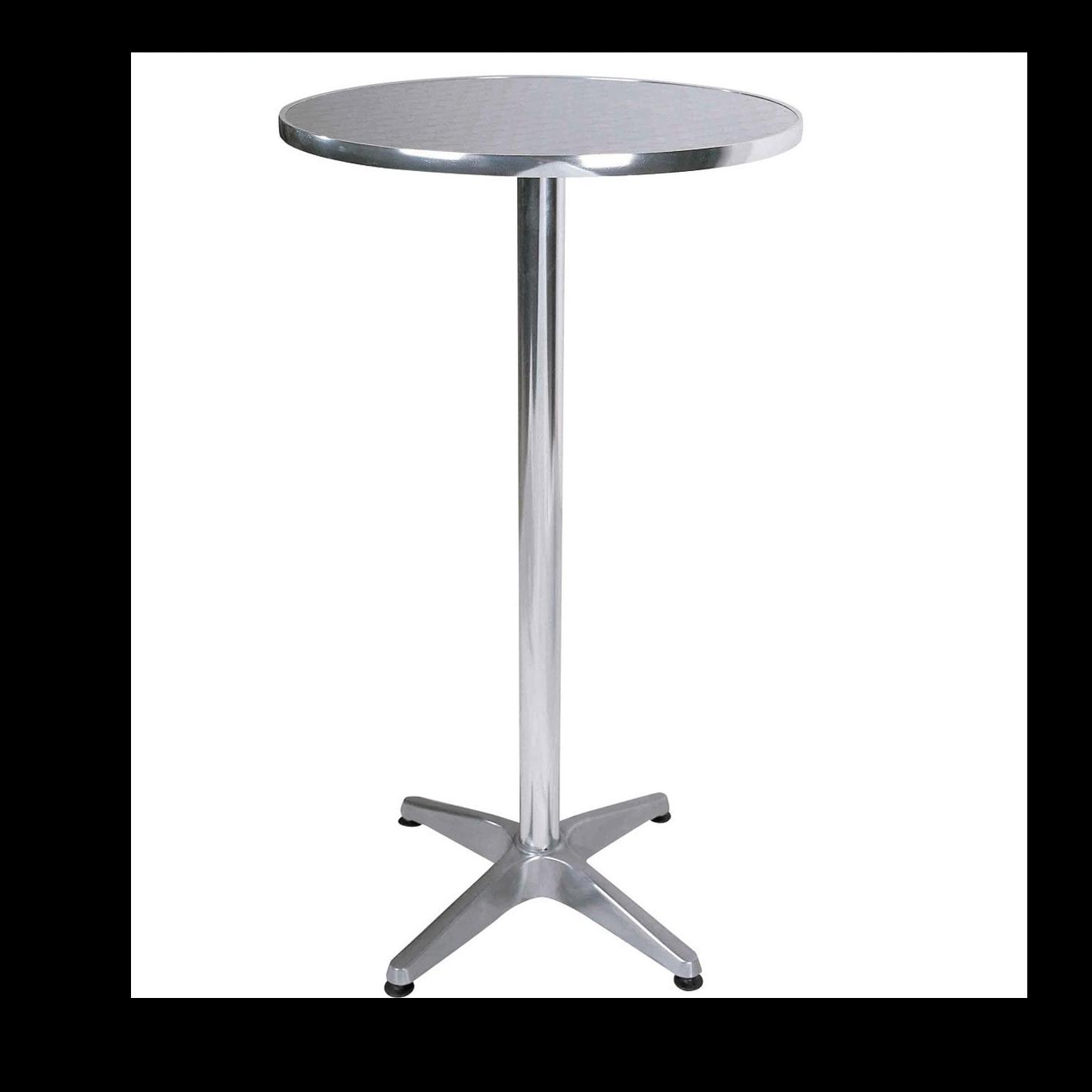 Aluminium Posuer Table Chairman Hire