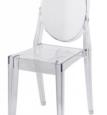 Chairman Hire Victoria Ghost Chair without Arms
