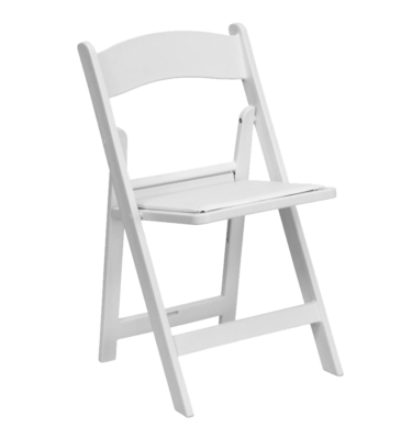 Resin-Folding-Chair-White