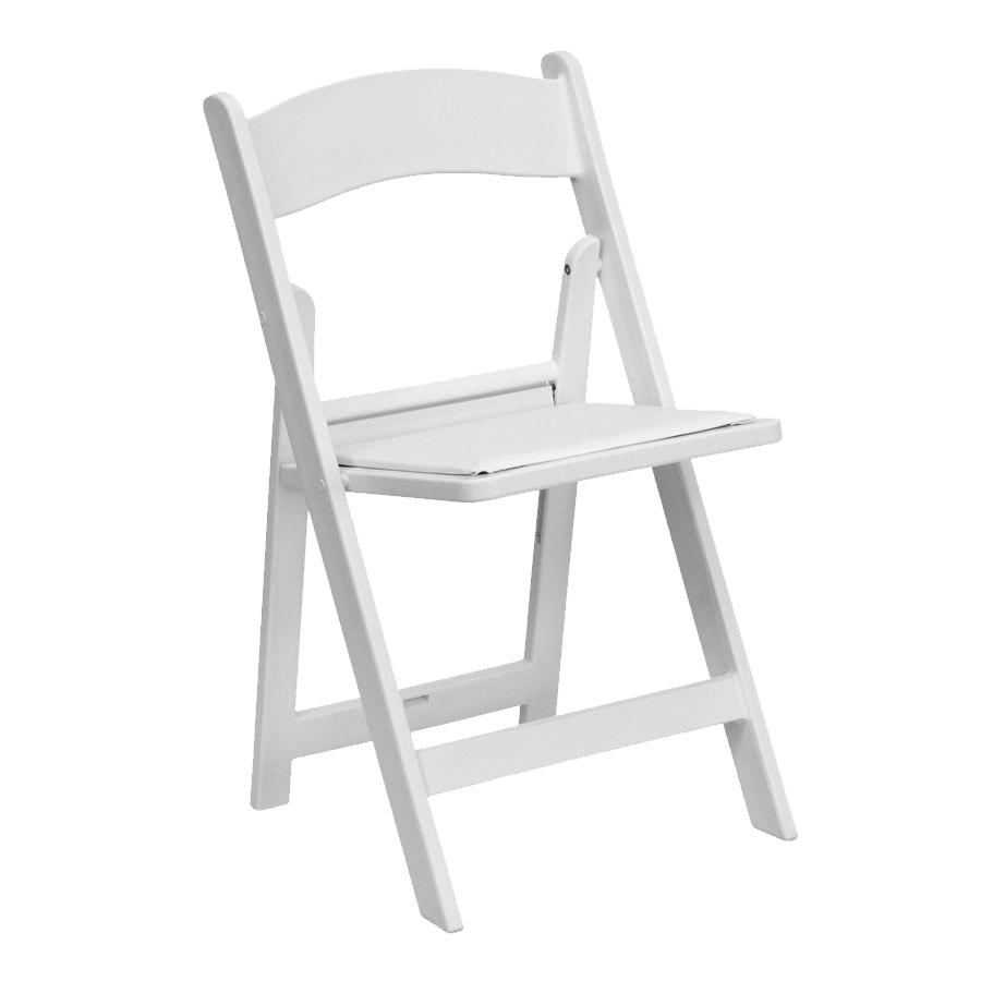 Ceremony Folding Resin Chair - Chairman Hire