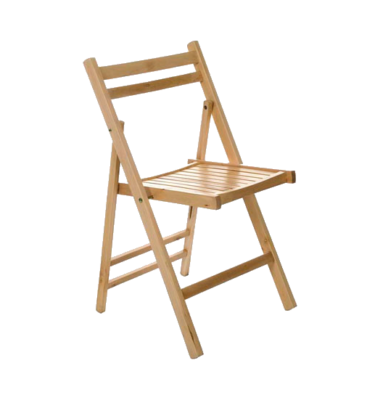 Wooden Folding Chair 1