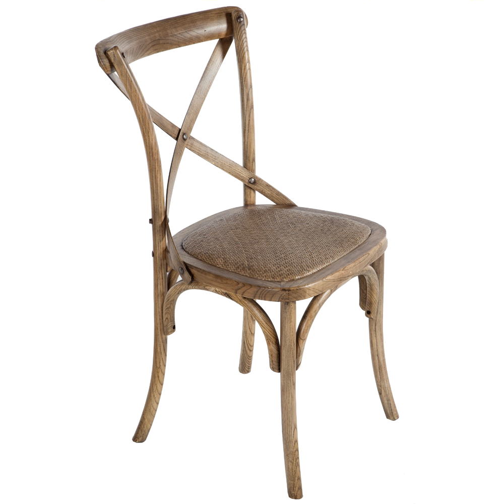Shabby Chic French Weathered Oak Chair Chairman Hire