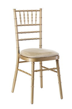 Champagne Gold Chiavari Chair PNG