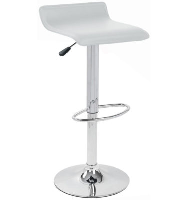 White-Leather-bar-stool