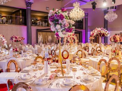 Chairman Hire Gold Rose Gold Halo wedding chair and Dior Banquet Dining Chairs for Hire IXL dunstone Polo ground Table Close UP