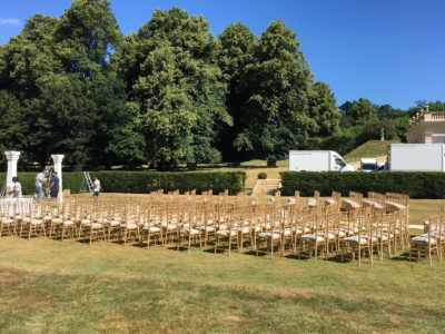 Gold Outdoor Ceremony Chair Chivari Chiavari Hire Chairman Hire