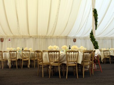Gold cheltenham wedding chairs