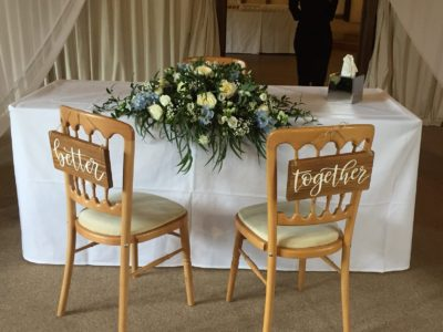 Natural Wood Cheltenham Chair for Rustic Wooden wedding chair