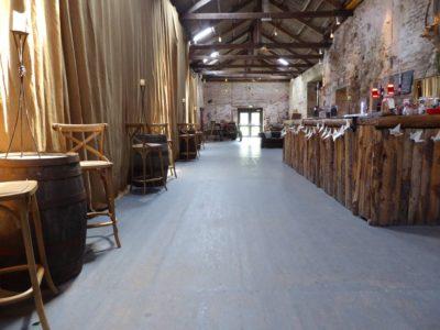 Rustic Vintage barrels and high stools rustic bar stools copy 2