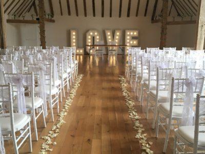 White chivari wedding chairs piano white wedding chairs Skylark Country Club copy