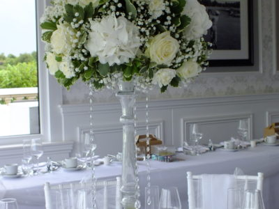 White chivari wedding chairs skylark country club