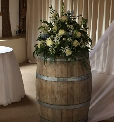 Vintage wooden barrel rustic wedding accessories copy