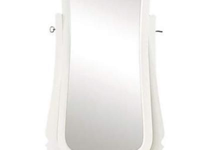 White Dress Mirror